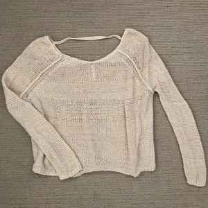 Free People Light Knit Sweater